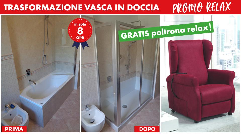 Vasca Da Bagno Relax : Da vasca a doccia poltrona gratis tecnobad sud