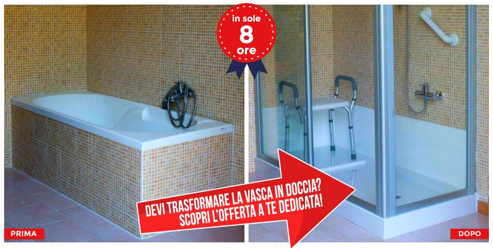 Vasca In Doccia Roma.Trasformazione Vasca In Doccia Roma Prezzi Tecnobad Sud